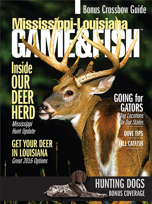 Mississippi louisiana game fish magazine subscription for Louisiana fish and game